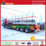 De Oplegger van de Tanker van de Tankwagen van de Opslag van het Roestvrij staal van het Aluminium van de brandstof