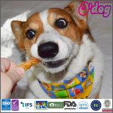 Процедура завершения Fishskin Odog сухих белых кальция кости для собак рассматривает
