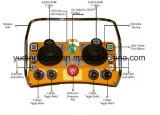 F24-60는 먼 관제사 탑 기중기, 구체 펌프를 위한 조이스틱 이중으로 한다
