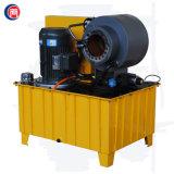Máquina de friso da mangueira hidráulica do fio de aço