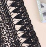 Bordados estereoscópicas Lace vestido da Senhora de têxteis