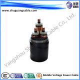 15kv a examiné le câble électrique isolé
