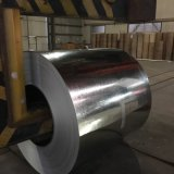 0,14*750mm tôle de toit ondulé les bobines de métal en acier galvanisé