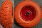 4.00-8 A roda de espuma de poliuretano em borracha sólida para o mercado dos EUA