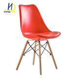 بلاستيك خلفيّة [بو] مقادة معدن إطار ساق وقت فراغ داخليّة يتعشّى كرسي تثبيت