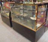 2 Schicht-Winkel-Form-Kuchen-Schaukasten für Bäckerei-System-/Coffee-Stab
