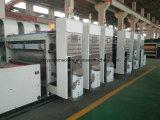 Chaîne de production ondulée de cadre de carton machine de découpage d'impression automatique