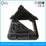 Griglia di plastica personalizzata resistente dello scolo del marciapiede dell'acqua di En124 HK