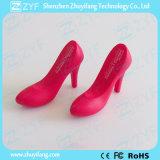 주문 분홍색 숙녀 높 발뒤꿈치 단화 디자인 USB 섬광 드라이브 (ZYF5032)