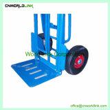 Vrachtwagen van de Logistiek van het Karretje van de Hand van het Staal van het pakhuis de Vierwielige