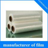 ArylicのPEの保護プラスチックフィルムのポリエステル・フィルムはパッキング食糧の交通標識のエーロゾルスクラッチペンキの保護フィルムのためのテープ反射フィルムを薄板にした