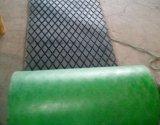 菱形プーリーラギングのゴム製シート、ベルト・コンベヤーのドラムのためのプーリーラギング