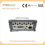 Équipement de mesure de résistance pour multicanaux avec 1 micro ohm-300k ohm (AU5110)
