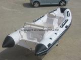 半硬式のガラス繊維の外皮の販売のための膨脹可能なボートの肋骨のボートRib470