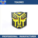 Colorful Transformers Carbon Fiber Badges Car Emblems