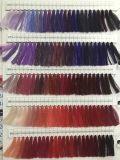 Colores teñidos venta al por mayor en el hilo de coser 100% del bordado de la materia textil del poliester