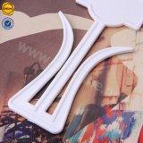 Настраиваемый логотип Sinicline белые пластиковые вешалки для сандалии