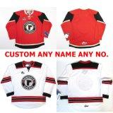 Настроить Qmjhl Квебек Remparts) мужская женщин Детский красный белый хоккей дешевые футболках Nikeid Goalit вырезать футболках nikeid высшего качества новых