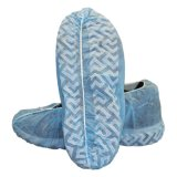 Comercio al por mayor azul PP Nonwoven desechables cubrezapatos