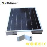 réverbère 15W solaire complet actionné solaire avec la batterie au lithium