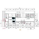 Oppeinのプロジェクトの木製の穀物PVCモジュラー台所食器棚(OP14-PVC02)