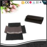 Samt-Manschettenknopf-Ring-Halsketten-Armband-Ketten-Ohrring-Pendent Armband-Tasche