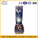 De hete Medaille van het Metaal van het Plateren van de Verkoop Rijke voor Decoratie