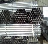 ERW soldó el tubo de acero galvanizado del andamio de la INMERSIÓN caliente Q235