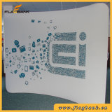 Tissu incurvée 8FT Waveline Pop Exposition d'affichage de la bannière du tube de support