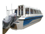 O Parque Aquático Aqualand 28pés 8,6 m táxi aquático de fibra de Ferry Boat/Barco a Motor do passageiro (860)
