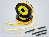 отметки 2.0mm желтые для шнура заплаты оптического волокна Multi