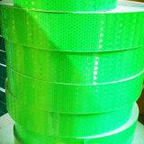 Лента PVC сота зеленого цвета отражательная для столба PU движения
