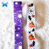 Custom Calidad Premium 16mm cinta de Grosgrain cinta de tafetán impreso con su logo
