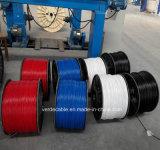 Câble de cuivre isolés en PVC le fil électrique
