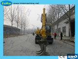 8.5-Tonnen-Cer-anerkannter Bauholzzupackenexkavator