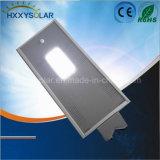 Capteur de mouvement Rue lumière LED solaire en aluminium de 12W