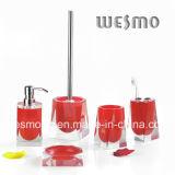 Ensemble de salle de bain Polyresin - Série transparente (WBP0299A)