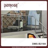 Het vierkante Traliewerk van het Glas van de Baluster van de Buis (dms-B2188)
