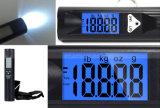 50kg de capacidad 10g de viaje portátil de precisión de la pesca de alto brillo LED Linterna equipaje escala