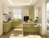 Gabinetes de cozinha modernos feitos prontos da fábrica da mobília de Shandong