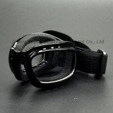 Occhiali di protezione pieghevoli del motociclo con il rilievo molle della parte interna (SG146)