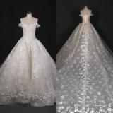 肩のビードのアップリケの中国の花嫁の服の婚礼衣裳Qh66007を離れて