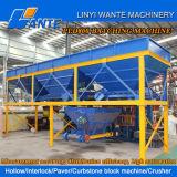Cavidade Qt4-15 concreta que pavimenta a máquina de fatura de tijolos da maquinaria de Linyi Wante
