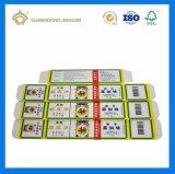 Cmyk personalizado impreso en papel cartón plegable Embalaje de productos médicos (Aceite medicado)