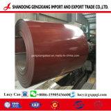 Bobina d'acciaio di PPGI dalla fabbrica dello Shandong per materiale da costruzione