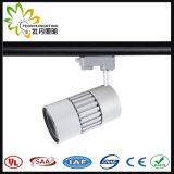 2/3/4 Drähte PFEILER LED Spur-Punkt-Licht 20W mit 10/23/38 Grad-Strahlungswinkel
