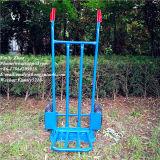 Duas rodas para serviço pesado carrinho de mão de aço azul (HT1893)