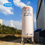 tanque de armazenamento do líquido 5m3 criogênico com pressão de 1.6MPa