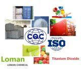 가죽, 코팅 및 용매 잉크를 위한 최신 판매 TiO2 만족한 94%Min 금홍석 이산화티탄 사용