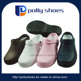 Donne nere/sandali dentellare della T-Cinghia del PVC